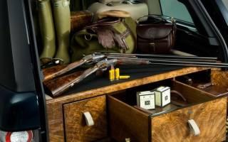 Каковы правила перевозки охотничьего оружия в автомобиле?