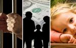 Кто платит алименты на ребенка если муж в тюрьме