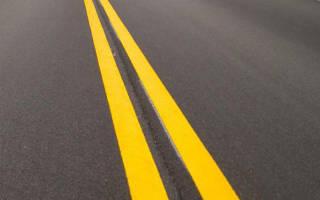Ответственность за пересечение двойной сплошной линии