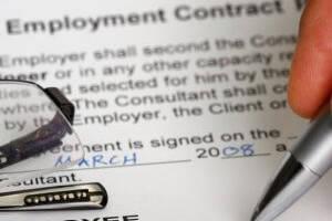 Типовой договор найма на работу