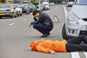 Что делать, если сбил человека на машине, по закону?