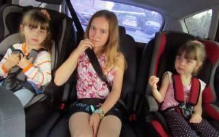 Ответственность за перевозку ребенка на коленях водителя